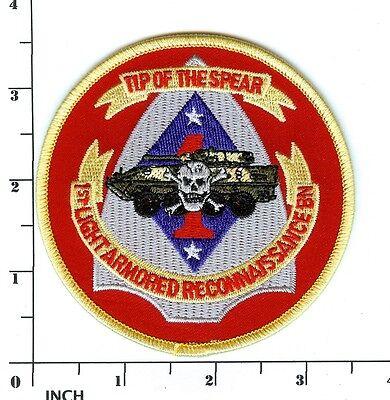 USMC 1st LAR Bn color PATCH 1st Light Armored Reconnaissance Battalion ! Marines