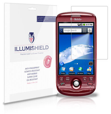 iLLumiShield Anti-Bubble/Print Screen Protector 3x for T-Mobile myTouch 3G 2009 2009 Screen Protector