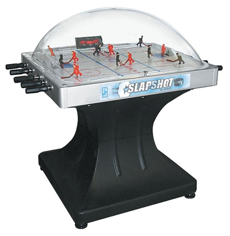 Shelti Slapshot Dome Hockey Table Arcade Game