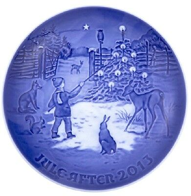 BING & GRONDAHL 2013 Christmas Plate B&G – GUARANTEED DELIVERY! New in Box!