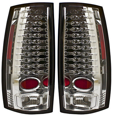 IPCW LEDT-311CA CHEVY SUBURBAN/TAHOE 2007-2014 LED CHROME/AMBER TAIL LAMPS(PAIR)
