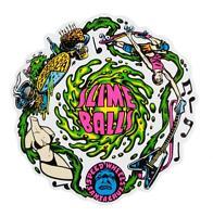 Santa Cruz - Slime Balls Skateboard Sticker - Slimeballs Vomit - santa cruz - ebay.co.uk