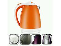 Brand new Kettle - Orange - 1.8L 1500W Xagoo Electric Kettle (orange)