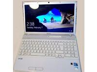 "Sony VAIO Laptop 15,5"", i3 Processor, 320 Gb Hdd, 3Gb memory, DVD multidrive"