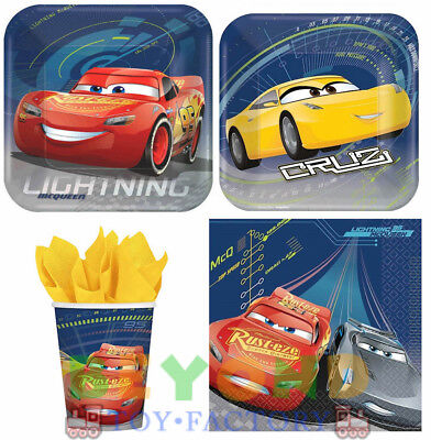 New Disney Cars 3 Birthday Party Express Pack for 8 guests (Birthday Party Express)