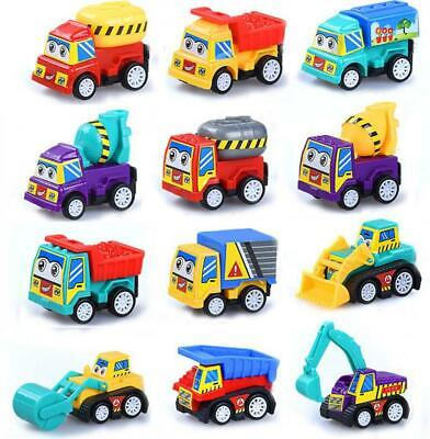 Mini Toy Cars (M-jump Pull Back 12 Pack Construction Toy Trucks Mini Cars For Kid Boys Play)