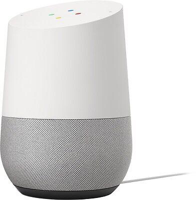 New Google Home   White Slate  Google Personal Assistant Speaker