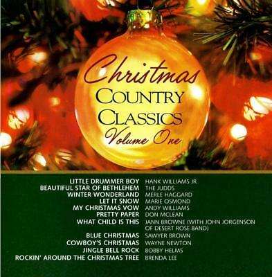 300 NEW CD's Christmas Country Classics v.1 WHOLESALE LOT Merle,Judds,Brenda Lee