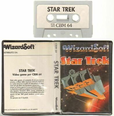 STAR TREK WizardSoft Commodore 64 C64 Videogioco