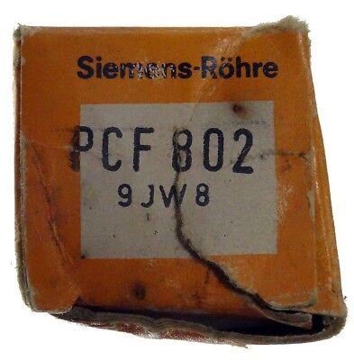 GEPRÜFT: PCF802 Radioröhre, Hersteller Siemens. ID16855
