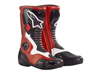 alpinestars smx5 boots motorcycle size uk 10 worn twice