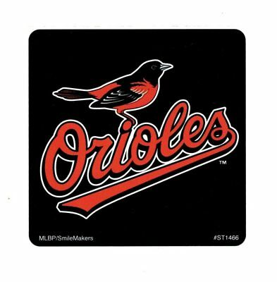 15 Baltimore Orioles MLB Baseball Stickers Kid Birthday Party Goody Bag - Baseball Goodie Bags
