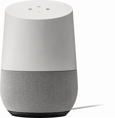 Google Home   Smart Assistant White Slate  New   Sealed