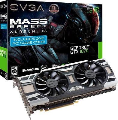 *NEW SEALED* EVGA - SuperClocked NVIDIA GeForce GTX 1070 8GB GDDR5 Graphics Card