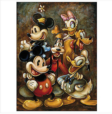 Disney Mickey Mouse and Pals Art  Print 16 x 20