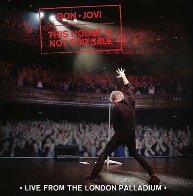 Bon Jovi   This House Is Not For Sale  Live From The London Palladium  Cd Sealed