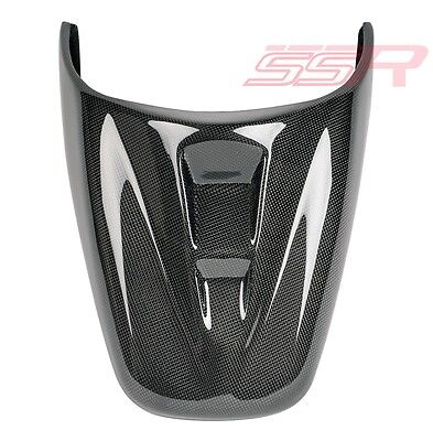 TRIUMPH SPEED TRIPLE REAR TAIL PASSENGER SEAT COWL COVER FAIRING CARBO