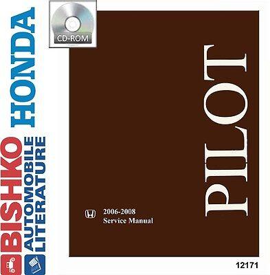 2006 2007 2008 Honda Pilot Shop Service Repair Manual CD