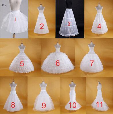 Wedding Petticoat Bridal Hoop Crinoline Prom Underskirt Fancy Skirt Slip](Petticoat Skirt)