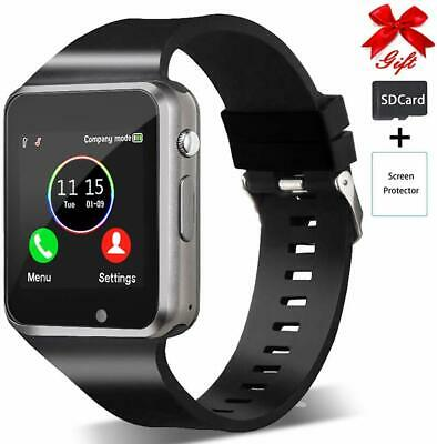 Smart Watch, Bluetooth, Call & Message Sync, Camera, SIM&SD Slots, Android & iOS