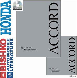 2007 honda accord repair manual ebay. Black Bedroom Furniture Sets. Home Design Ideas