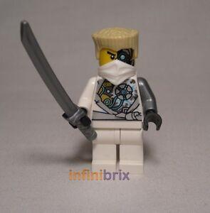 lego zane rebooted battle scarred ninja from set 70724