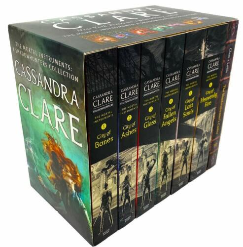 The Mortal Instruments A Shadowhunters 7 Books Collection By Cassandra Clare