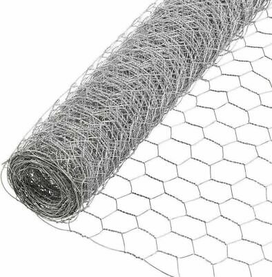 6 Ft. X 50 Ft. Poultry Pen Netting Hexagonal Mesh Weave Animal Enclosure Fence