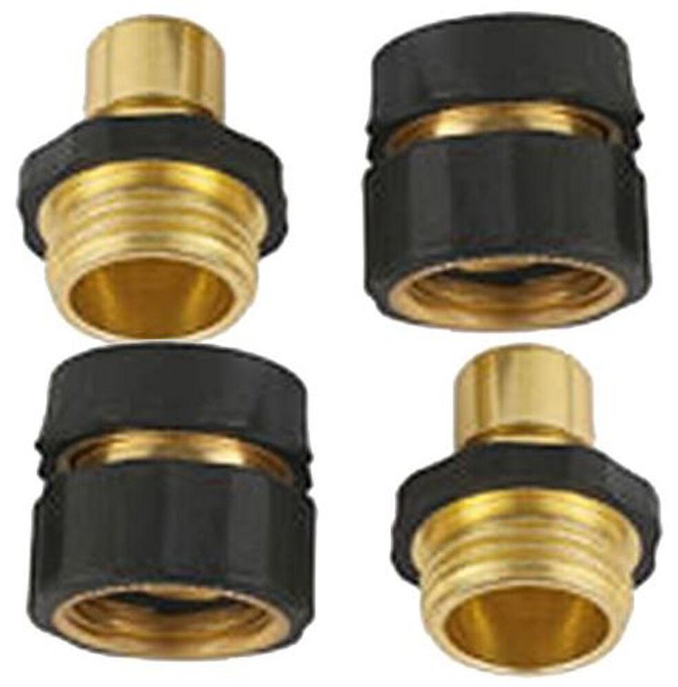 2 Set A8011 Power Pressure Washer Garden Hose Brass Quick Co