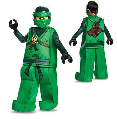 Boys LEGO Ninjago Prestige Lloyd Halloween Costume - Green Ninjago Halloween Costumes