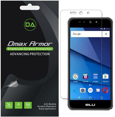 Deluxe Armor Pack - 6-Pack Dmax Armor HD Clear Screen Protector shield for BLU Grand XL