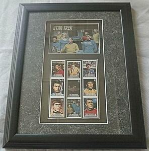Framed Star Trek 30th Anniversary postal stamps original series Oakville / Halton Region Toronto (GTA) image 1