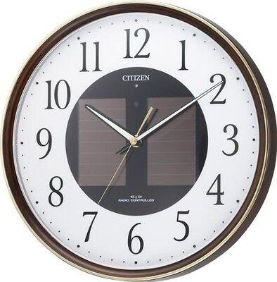 New! CITIZEN wall clock Eco Life M807 Solar Powered 4MY807-023 Eco Mark Japan