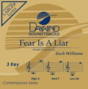 Zach Williams - Fear Is A Liar -  Accompaniment / Performance Track - New