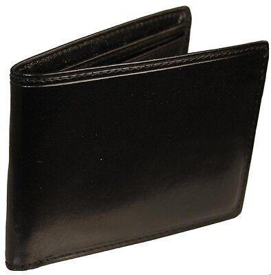 Castello Italian Leather Thin Billfold Wallet ()