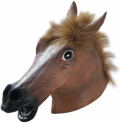 Deluxe Lattice Cavallo Testa Maschera Adulti Accessorio Costume