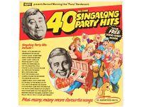 *BERNARD MANNING & JOE 'PIANO' HENDERSON* 40 All Time Singalong Party Hits Vinyl