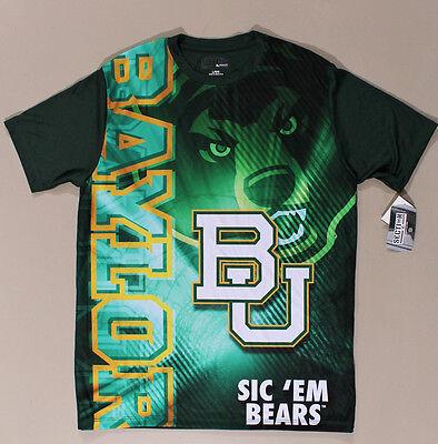 Baylor Bears Baylor University Green T-shirt Size Large - New (M420.02) Baylor University Bears