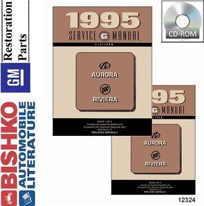 oldsmobile aurora repair manual 1995 buick riviera oldsmobile aurora shop service repair manual cd engine wiring