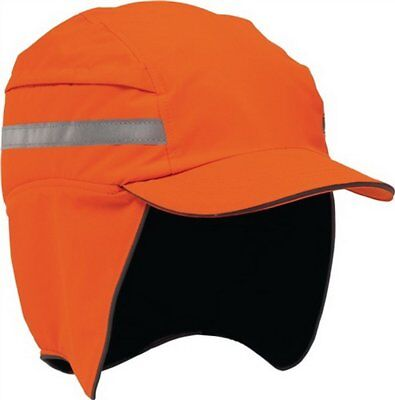 Anstosskappe First Base Cap 3 WINTER  Hi Vis Orange mit Reflexstreifen - Scott Hc Base