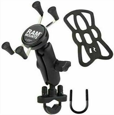 RAM-B-149Z-UN10U RAM Motorcycle Mount w/ Universal  X-Grip Phone Cradle