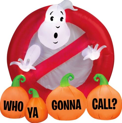 """Pre Order Sale ! GHOSTBUSTER """"WHO you GONNA Call"""" HALLOWEEN INFLATABLE AIRBLOWN"""