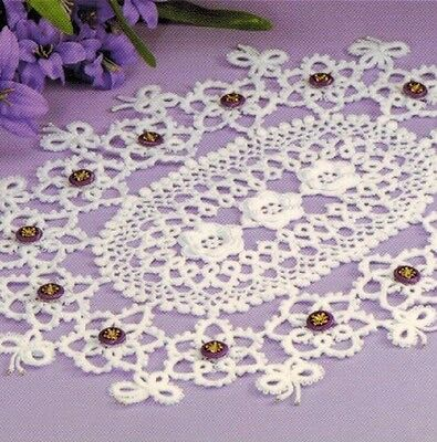 Gorgeous Table Accents Doilies Runner Table Cloths Gifts - 13 Crochet Patterns