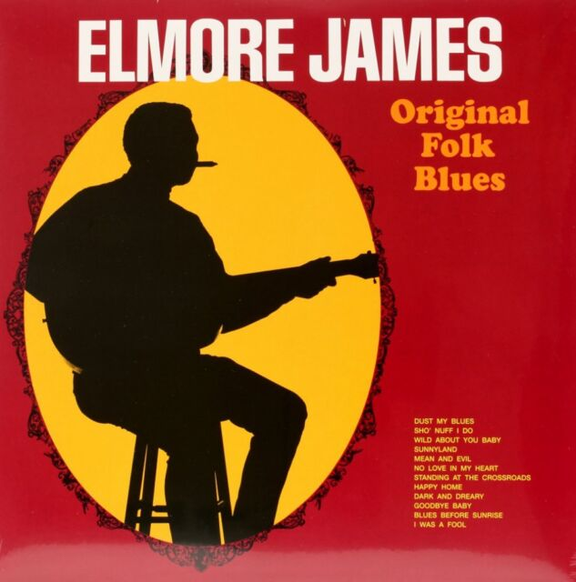 ORIGINAL FOLK BLUES  ELMORE JAMES Vinyl Record