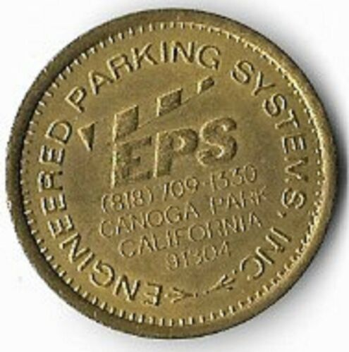 Engineered Parking Systems Canoga Park California Parking Token