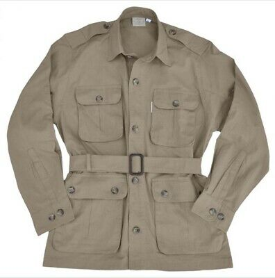 Tag Safari Men's Breathable with Multiple Pockets Jacket