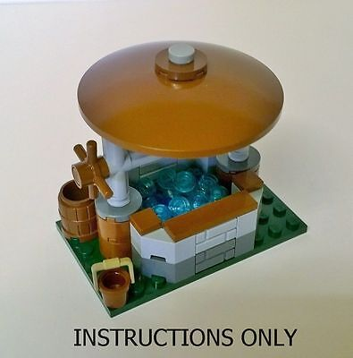 Lego Instructions Only For Farm Well No Bricks Custom Build Creator