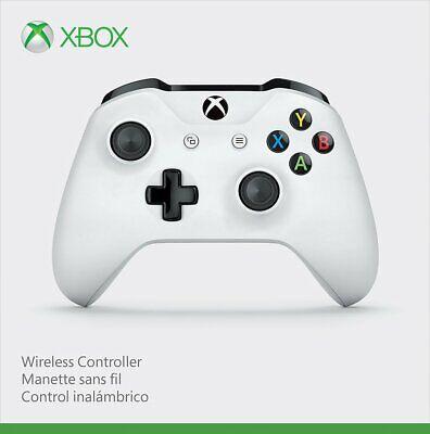 Microsoft Xbox One Wireless Controller, White - Brand New