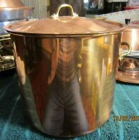 Copper cookware Copral mostly new