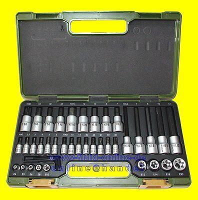 PROXXON 23290 Nusssatz HX Innensechskant + TX Torx 42 teilig kurz & lang - NEU online kaufen